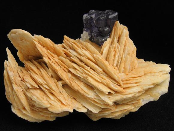 Baryte and Fluorite