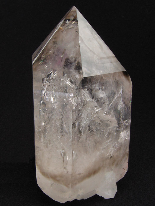 Quartz With Very Large Bubble Inclusions