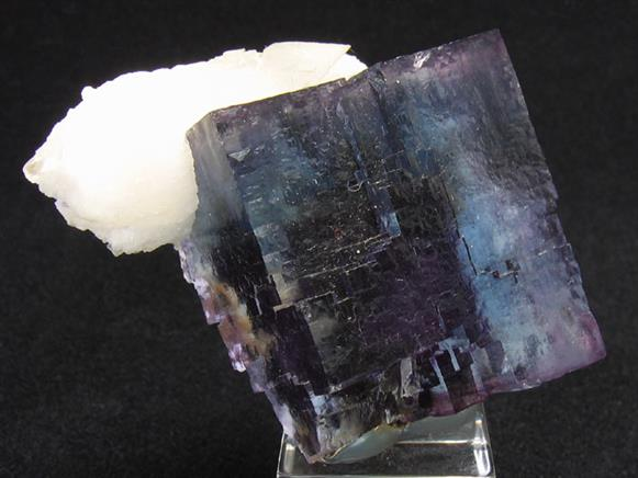 Fluorite and Calcite