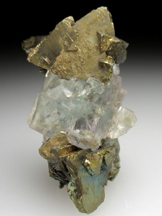 Chalcopyrite and Fluorite