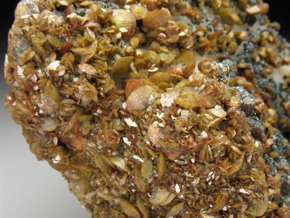 Siderite & Specularite on Quartz