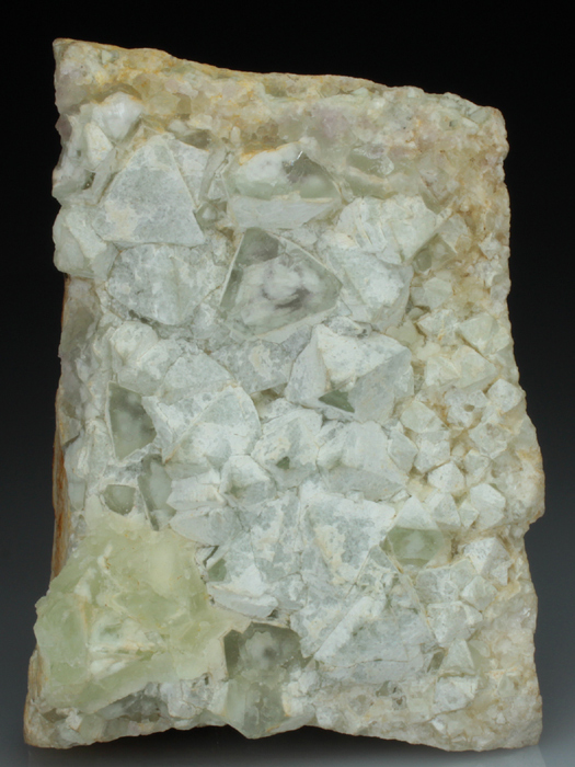 Fluorite Coated By Quartz