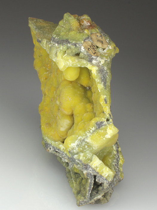 Smithsonite With Greenockite