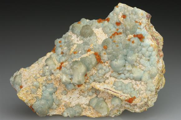 Tsumcorite on Willemite