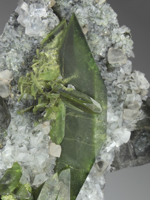 Titanite and Quartz