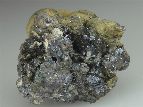 Pyrargyrite With Native Arsenic