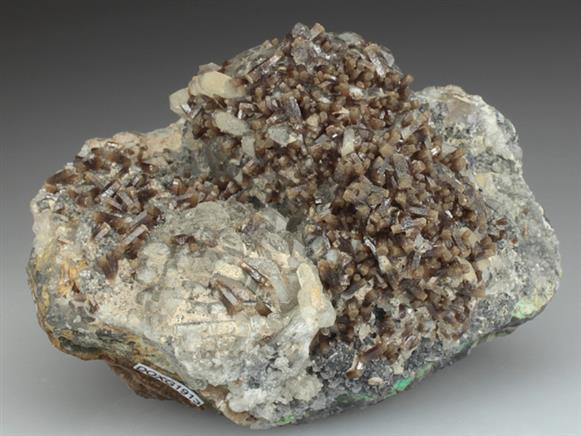 Pyromorphite With Baryte