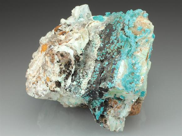 Devilline With Gypsum