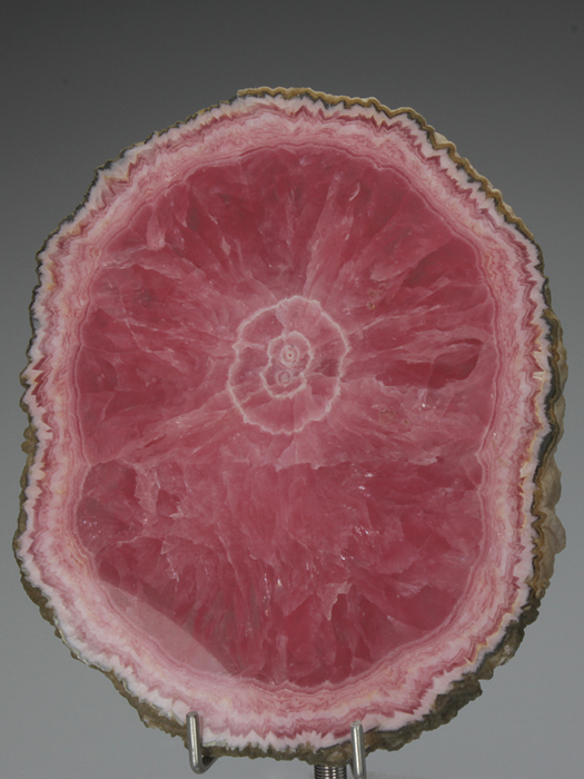 Rhodochrosite Polished Slice