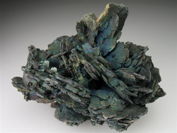 Chalcocite Altering To Bornite