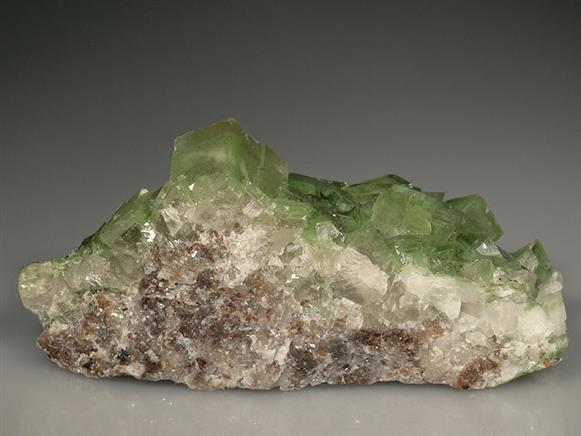 Duftite Included Calcite