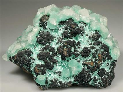 Aurichalcite  and Calcite
