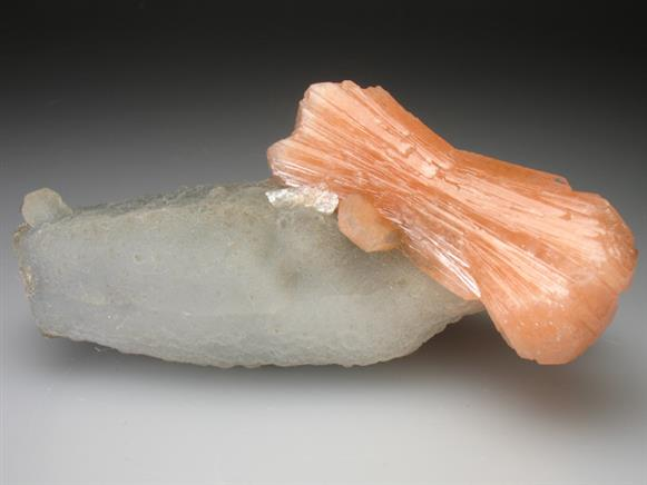 Stilbite and Quartz
