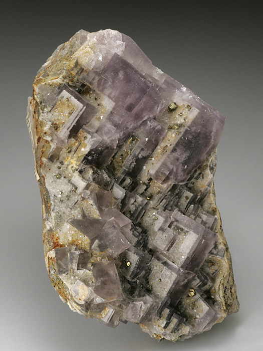 Fluorite and Chalcopyrite