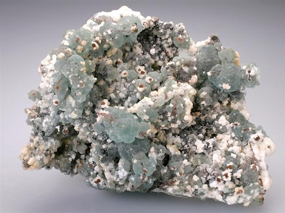 Willemite and Calcite