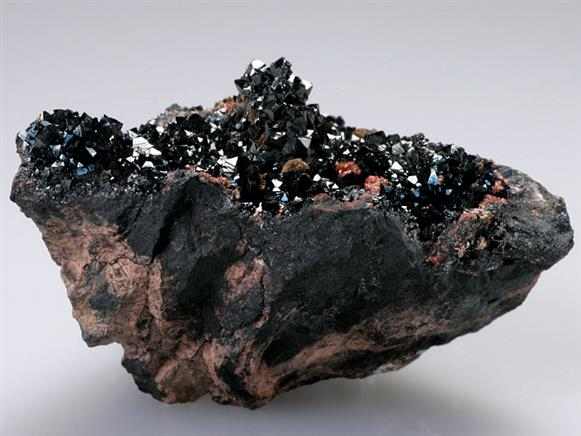 Hausmannite With Andradite