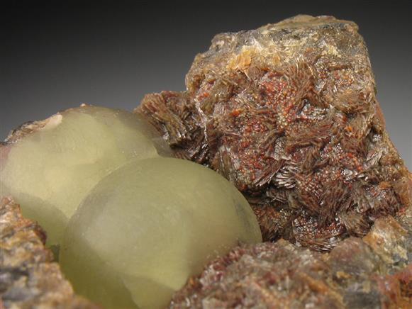 Smithsonite With Siderite