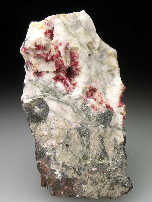 Variscite on Albite