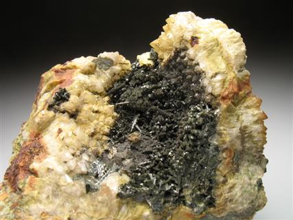 Olivenite and Quartz