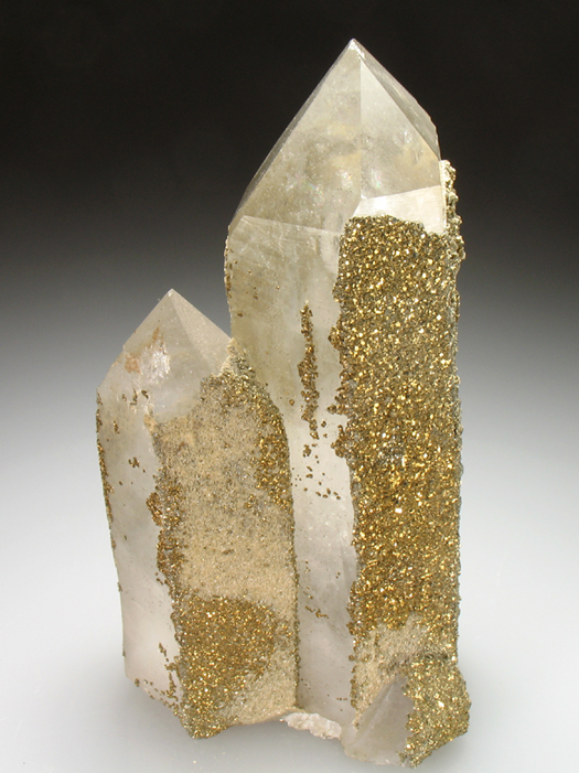Quartz With Pyrite and Siderite