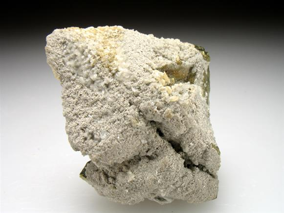 Chalcopyrite With Calcite