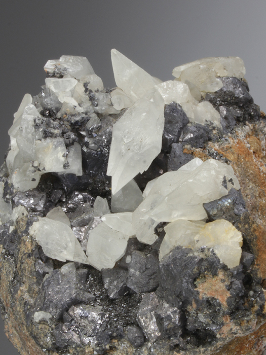 Calcite With Galena