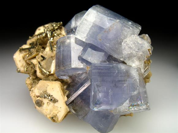 Apatite With Muscovite and Arsenopyrite