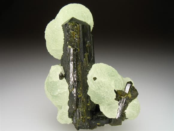 Prehnite and Epidote