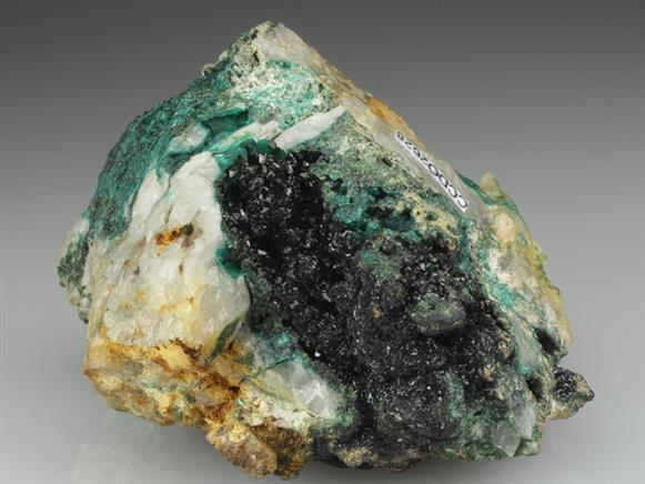 Libethenite With Cornwallite
