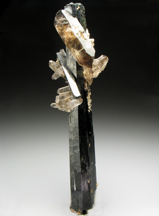 Aegirine and Smoky Quartz