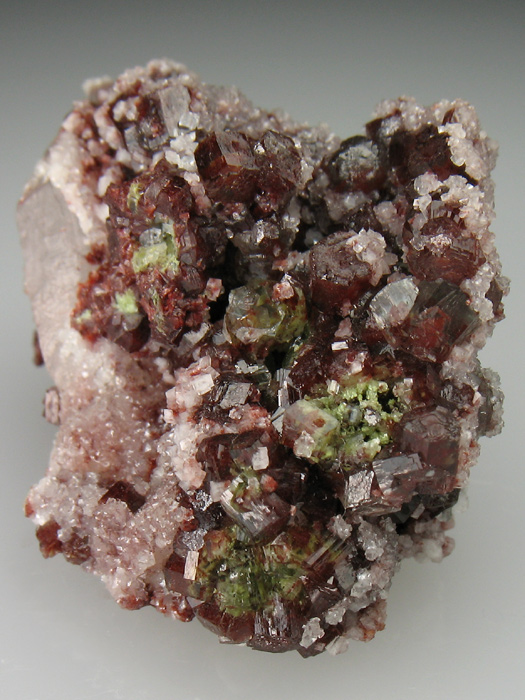 Willemite and Quartz