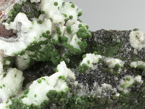 Conichalcite With Dolomite