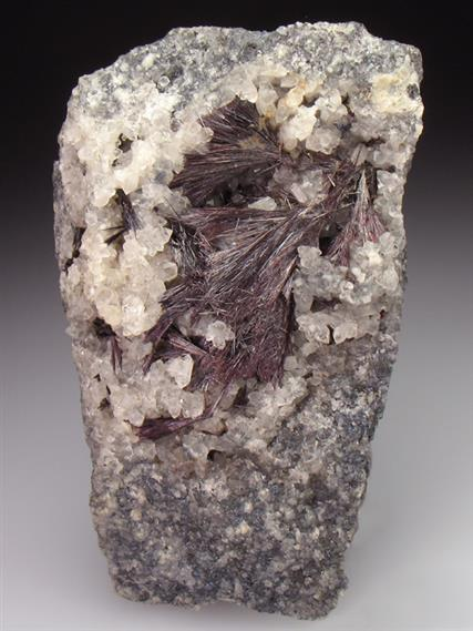 Kermesite With Quartz