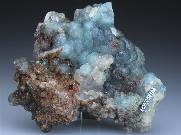 Willemite on Cerussite