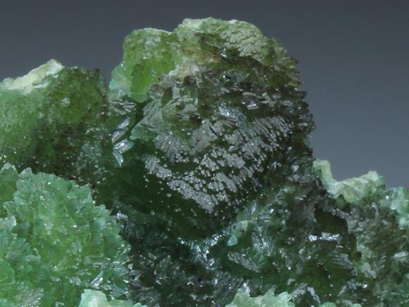 Azurite on Cuprian Smithsonite