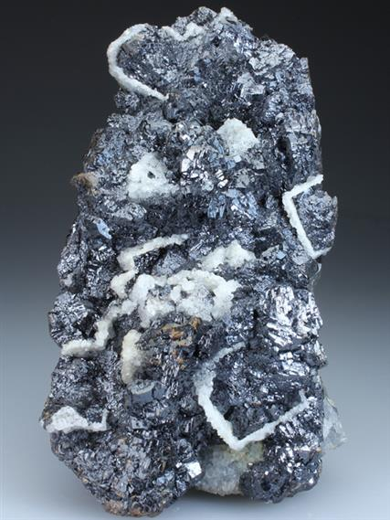 Sphalerite and Quartz Epimorph After Fluorite