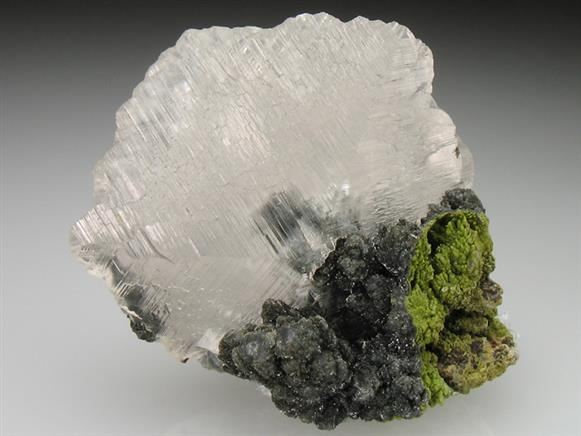Calcite With Mottramite and Duftite