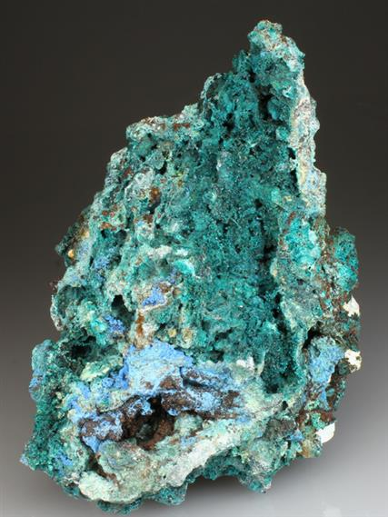Spangolite With Cyanotrichite