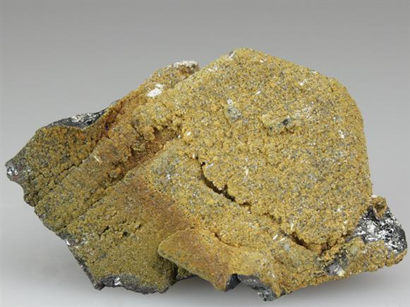 Tsumcorite With Mimetite on Tennantite