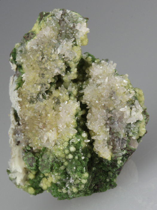 Willemite With Conichalcite and Smithsonite