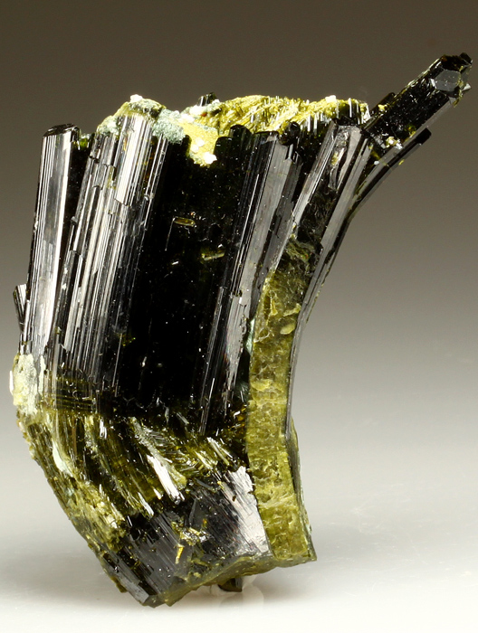 Epidote With Byssolite and Adularia
