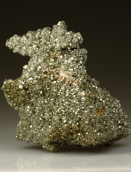 Pyrite on Baryte