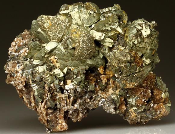Marcasite With Muscovite