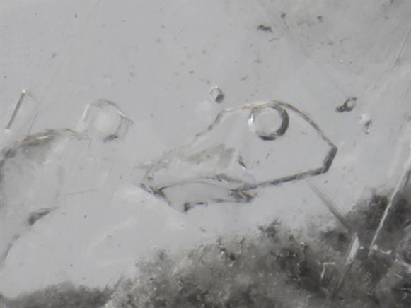 Gypsum With Moving Bubble
