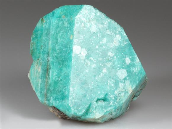 Microcline Var Amazonite With Quartz
