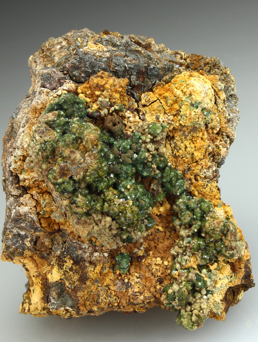 Pharmacosiderite and Karibibite