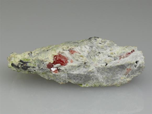 Cuprite Included In Cerussite