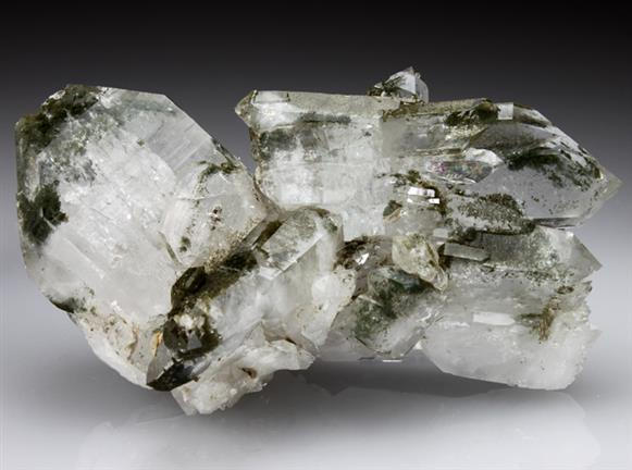 Quartz With Included Chlorite