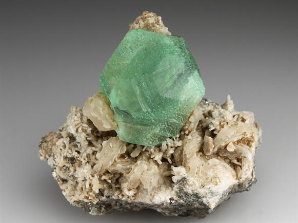 Fluorite With Cosalite Inclusions