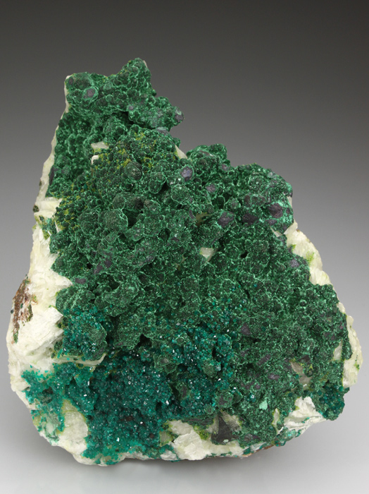 Dioptase With Malachite